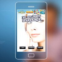 Conan O'Brien makes a video review of stress-relieving apps, goes from stabbing to Swedish massage