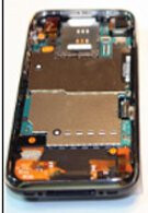 Typical teardown treatment performed on iPhone 3G S