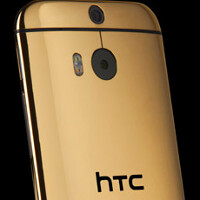 Want a 24k gold plated HTC One (M8)? Here's where you can buy one