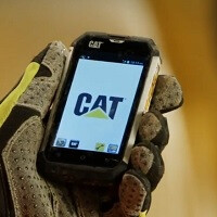 CAT shows off just how tough its B15 smartphone really is