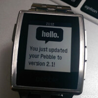 Pebble updates ready for firmware, iOS and Android apps; get Pandora on your wrist