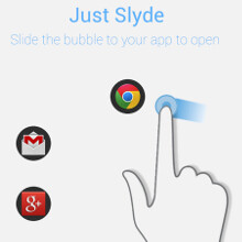 Slyde Floating App Switcher for Android makes one-handed operation easier