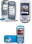 Sony Ericsson P910, K500 and S710a mobile phones introduced