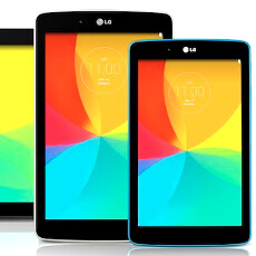 LG jumps into the tablet fight with the new and colorful G Pad 7.0, 8.0, and 10.1
