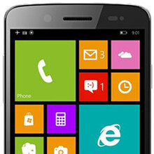 First Windows Phone 8.1 handset from Prestigio pictured