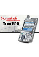 Treo 650 to be available from Verizon Wireless on May 11, 2005