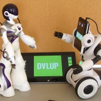 Cortana-powered, smartphone-controlled toy robots might be the ultimate in geeky fun