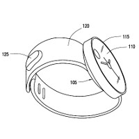 Has Samsung's new wearable leaked in these patent applications?