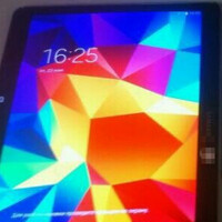 Irony: Low-res photo shows off hi-res display on the Samsung Galaxy Tab S 10.5