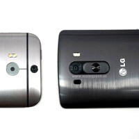 Revealing LG G3 leaked images show its size, compared to HTC One (M8)