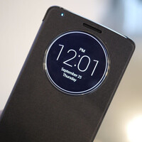 LG G3 QuickCircle Case and interface: a closer look