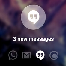 Peek app brings the subtle notification system of custom ROMs to any Android KitKat phone