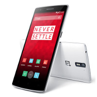 OnePlus One accessories displayed by manufacturer