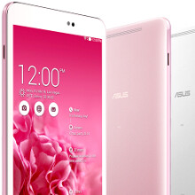 "ASUS outs a trio of 64-bit Android KitKat slates: slim-bezel Fonepad 8, and MeMO Pad 8 as the lightest 8"" LTE tablet"