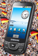 О2 now offers the Samsung Galaxy I7500 in Germany
