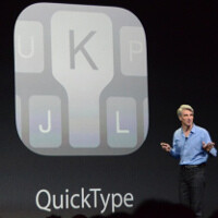Apple takes a leaf from Google's book, adds contextual prediction to the keyboard in iOS 8