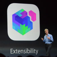 This is HUGE: iOS 8 adds extensions, including 3rd party keyboards, sharing, and widgets