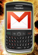 Gmail app for BlackBerry devices to support push email