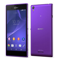 Hands-on images of the super-slim, purple Sony Xperia T3 appear