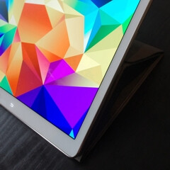 Samsung Galaxy Tab S 10.5 pictured alongside new flip covers