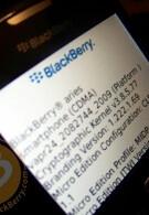 RIM and Verizon postpone BlackBerry Aries 8530 to February?