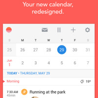 Sunrise - a new calendar app comes to show the Google and iCloud calendars how it's done