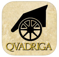 Qvadriga, a turn-based racing game with chariots, is now available for iPad and Android tablets