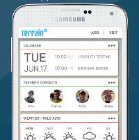 Terrain Home arrives on Android: a Google Now-like launcher
