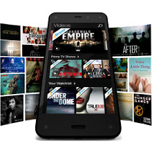 Unlimited cloud photo storage and a year of gratis Amazon Prime ship with the Fire Phone