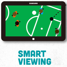 Samsung survey finds that 30% of UK fans plan to watch the World Cup on a smartphone or tablet