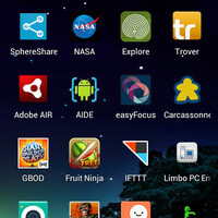 Take picture of home screen android.