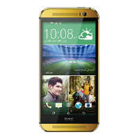 Bling bling: HTC One M8 in