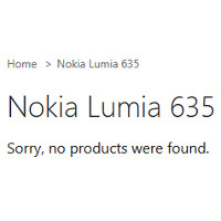 Nokia Lumia 635 pre-order page pulled from the Microsoft Store