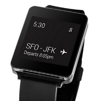 AT&T will be one of the first carriers in the states to launch the LG G Watch