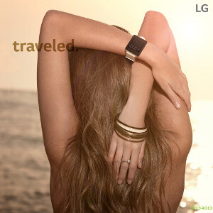 Sex sells: LG's G Watch promo site looks like a posh fashion magazine