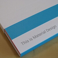 Here is a surprisingly low tech look at Material Design for Android L