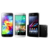 Samsung Galaxy S5 mini vs HTC One mini 2 vs Sony Xperia Z1 Compact - specs comparison