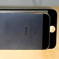 Claimed iPhone 6 front gets handled next to an iPhone 5s, is tougher to use with one hand (video)