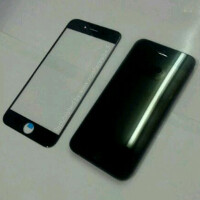 A new set of claimed iPhone 6 front panel pictures is out, includes both black and white models this time