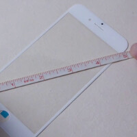 Video shows front panel measurement for the Apple iPhone 6