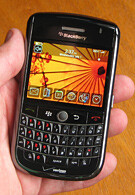Hands-on with the BlackBerry Tour 9630