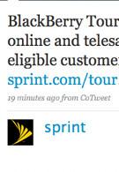 Sprint to match Verizon, launch BlackBerry Tour on July 12th