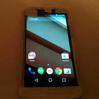 Mysterious handset, allegedly a Motorola, shown on video; runs Android L?