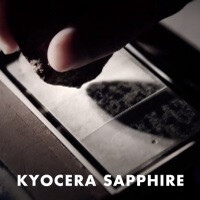 Kyocera tests sapphire against resistant glass on video, things look promising