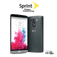 LG G3 in Sprint stores today; use Easy Pay and get a $150 gift card
