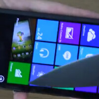 Nokia Lumia 930 knife test shows strength of Gorilla Glass 3