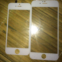Alleged Apple iPhone 6 front panels get compared to older models