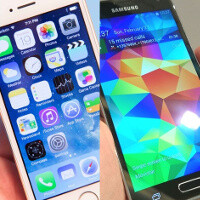 Samsung Galaxy S5 sales said to fall behind iPhone 5s and last year's S4