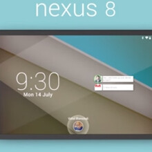 This HTC-made Google Nexus 8 concept uses Android L, BoomSound speakers