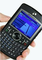 Windows Mobile 6.5 spotted on a Motorola Q9h